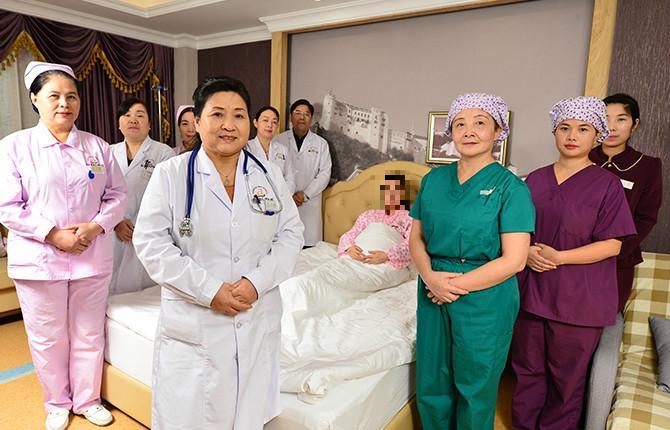鄭州美中商都婦產醫院樹立高尚的醫德品質綠色就診通道